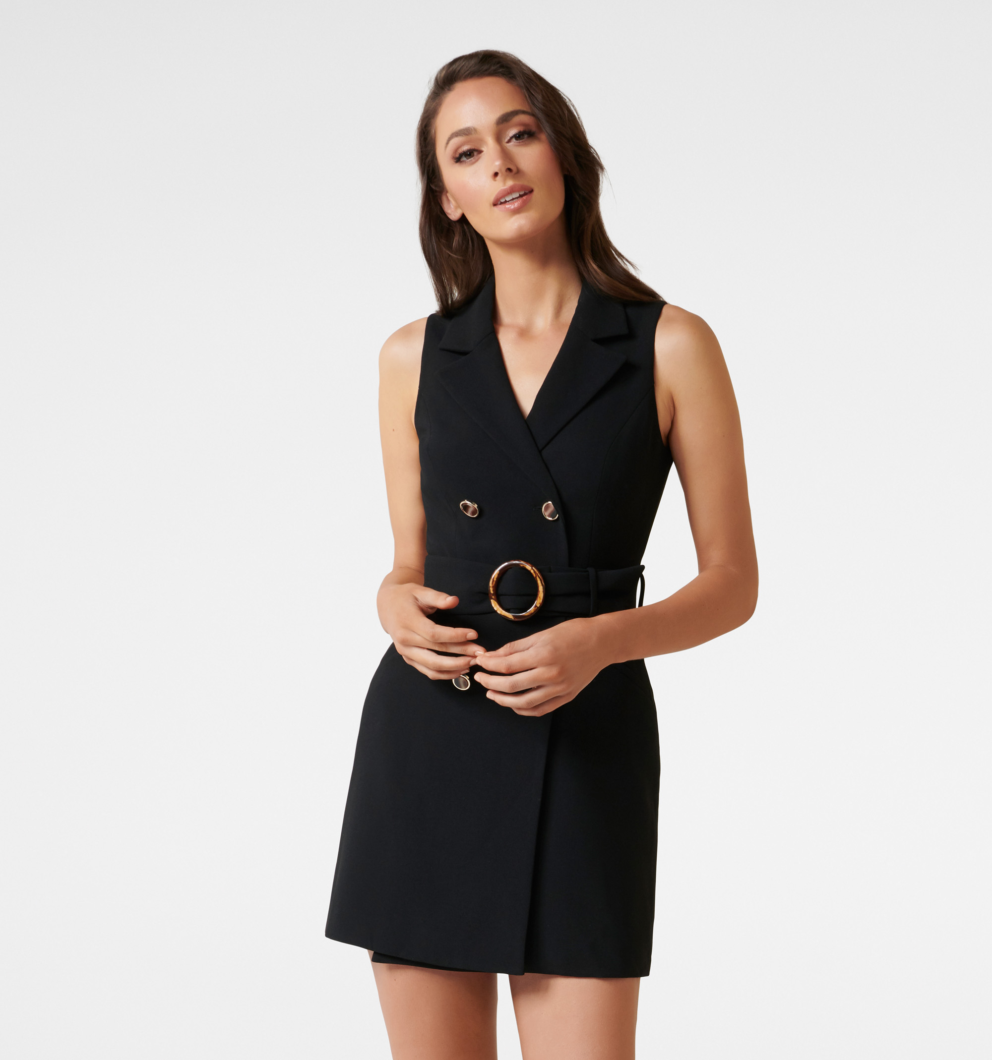 Tessa Sleeveless Blazer Dress
